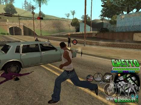 C-HUD Ghetto Life pour GTA San Andreas