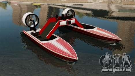 Catamaran-Jetmax Aero- pour GTA 4
