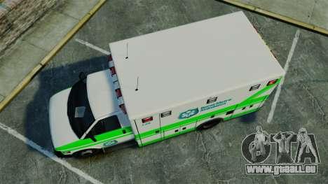 Brute Rural Metro EMS [ELS] pour GTA 4 est un droit