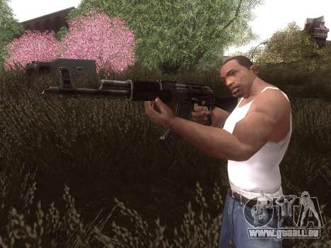 AK-103 für GTA San Andreas dritten Screenshot