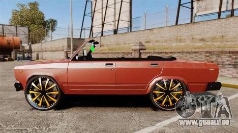 VAZ-2107 Donk Style pour GTA 4 est une gauche