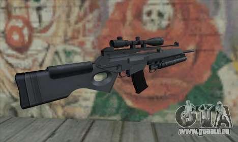 SG550 pour GTA San Andreas deuxième écran