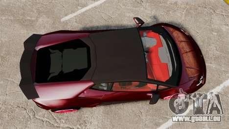 Lamborghini Huracan 2014 Oakley Tuning für GTA 4 rechte Ansicht