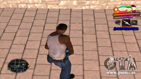 C-HUD South Park für GTA San Andreas zweiten Screenshot