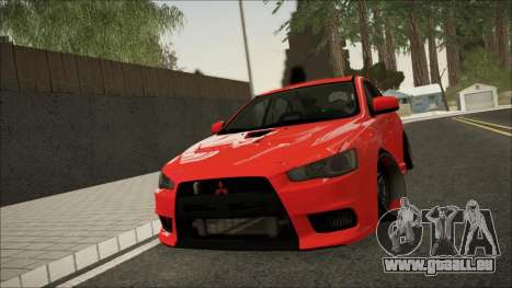 Mitsubishi Lancer X pour GTA San Andreas