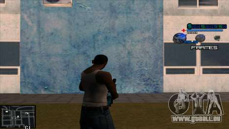C-Hud Niko pour GTA San Andreas deuxième écran