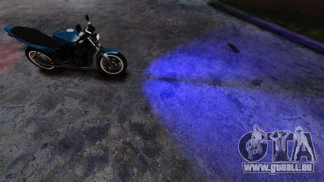 Blau-Scheinwerfer für GTA 4 Sekunden Bildschirm