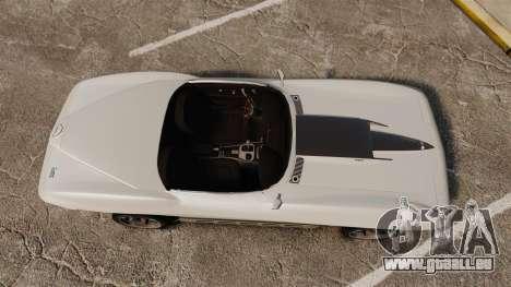 Chevrolet Corvette Stingray für GTA 4 rechte Ansicht