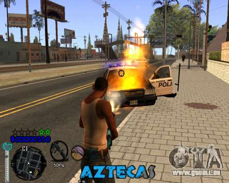 C-Hud by Abelardo pour GTA San Andreas troisième écran