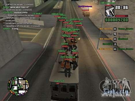 SA-MP 0.3z pour GTA San Andreas huitième écran