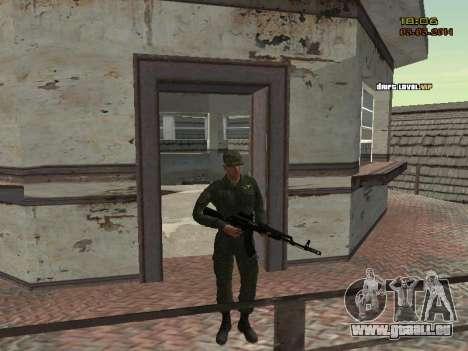 L'armée russe moderne pour GTA San Andreas huitième écran