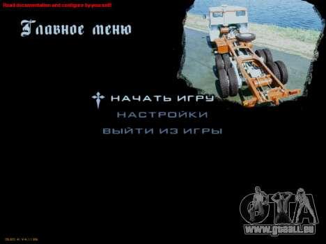 Boot-screens sowjetischen LKW für GTA San Andreas sechsten Screenshot