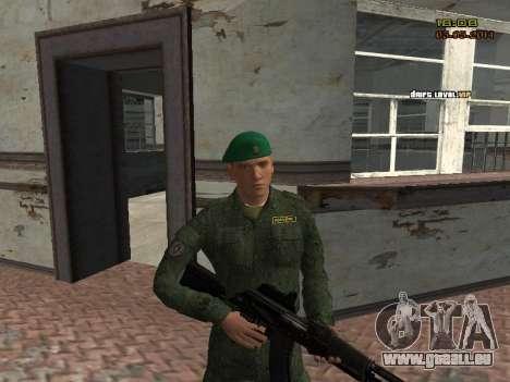 L'armée russe moderne pour GTA San Andreas