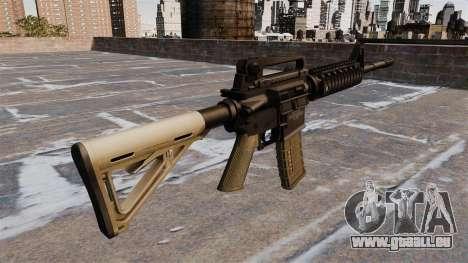 Automatische Carbine M4 Chris Costa für GTA 4 Sekunden Bildschirm