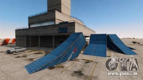 Astuce-parking à l'aéroport pour GTA 4 cinquième écran