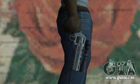 44.M Raging Bull with Scope für GTA San Andreas dritten Screenshot