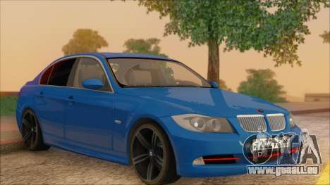 BMW 330i für GTA San Andreas Seitenansicht