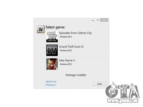 OpenIV 1.6 pour GTA 4