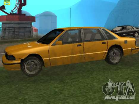 Premier 2012 pour GTA San Andreas laissé vue