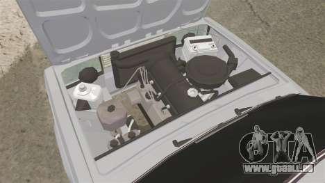 AIDE-Lada 2107 pour GTA 4 Vue arrière