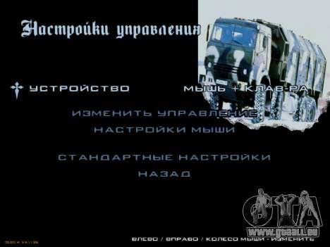 Boot-screens sowjetischen LKW für GTA San Andreas neunten Screenshot