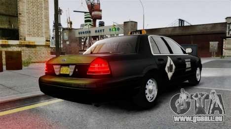 Ford Crown Victoria Cab für GTA 4 hinten links Ansicht