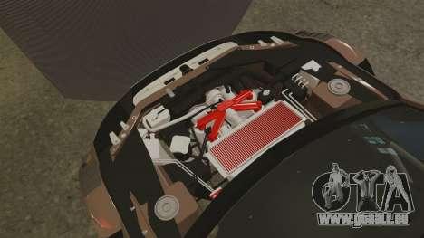 Audi A4 2008 Touring car pour GTA 4 est une vue de l'intérieur