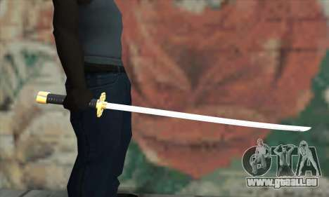 New Katana für GTA San Andreas dritten Screenshot