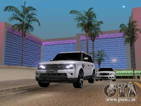 Range Rover Sport 2011 pour GTA San Andreas vue de droite
