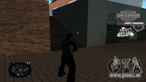 C-Hud Heavy Metal pour GTA San Andreas