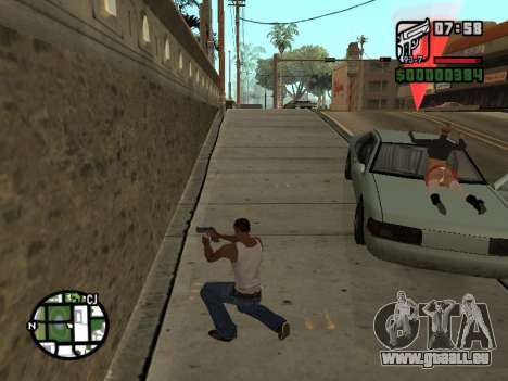 Le Ketchup sur le capot pour GTA San Andreas troisième écran