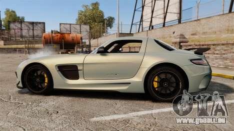 Mercedes-Benz SLS 2014 AMG Black Series pour GTA 4 est une gauche