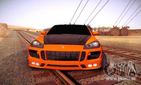 Porsche Cayenne für GTA San Andreas linke Ansicht