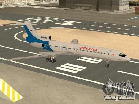 Tu-154 B-2 SCC Russland für GTA San Andreas Seitenansicht
