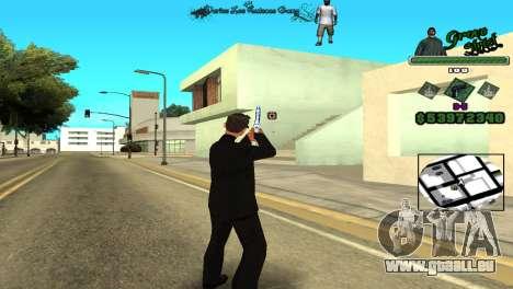 Hud By Tony für GTA San Andreas dritten Screenshot