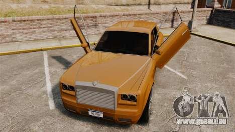 Super Diamond VIP pour GTA 4 Vue arrière