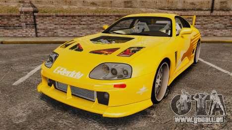 Toyota Supra 1994 (Mark IV) Slap Jack pour GTA 4