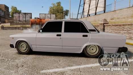 AIDE-Lada 2107 pour GTA 4 est une gauche