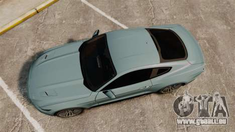 Ford Mustang GT 2015 v2.0 pour GTA 4 est un droit