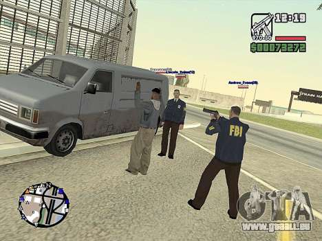 SA-MP 0.3z für GTA San Andreas neunten Screenshot