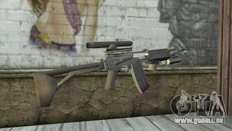 M21S pour GTA San Andreas deuxième écran