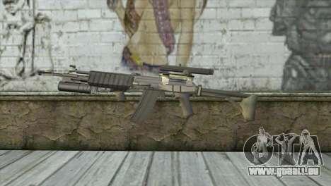 M21S pour GTA San Andreas troisième écran