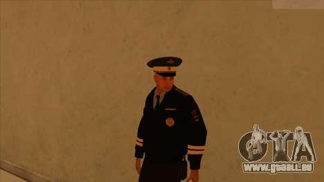 Les peaux de la police et de l'armée pour GTA San Andreas onzième écran