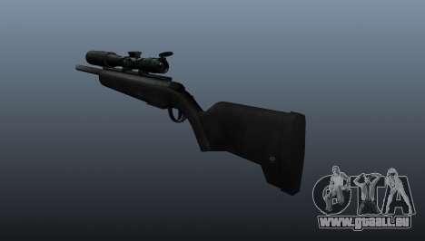 Le fusil de sniper Steyr Scout pour GTA 4 secondes d'écran