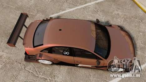 Audi A4 2008 Touring car pour GTA 4 est un droit