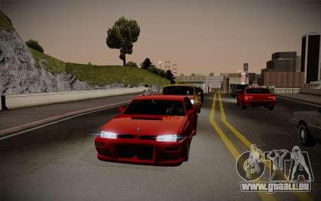 ENBSeries pour la faiblesse du PC pour GTA San Andreas deuxième écran