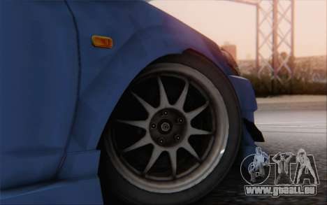 Honda Integra für GTA San Andreas zurück linke Ansicht