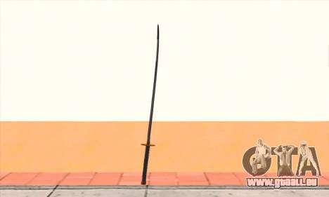 Katana für GTA San Andreas zweiten Screenshot
