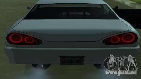 Elegy 280sx pour GTA San Andreas vue de dessus