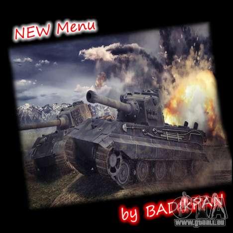 Menu de World of Tanks pour GTA San Andreas